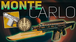 monte Carlo Exotic Review (If looks could Kill)  Destiny 2 Shadowkeep
