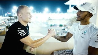 Just Two Guys on A Roof Top: Valtteri & Lewis On A Special 2017 Season
