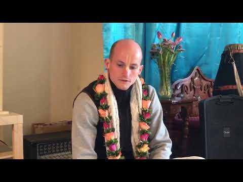 Morning Class with HG Mandraghosa Prabhu