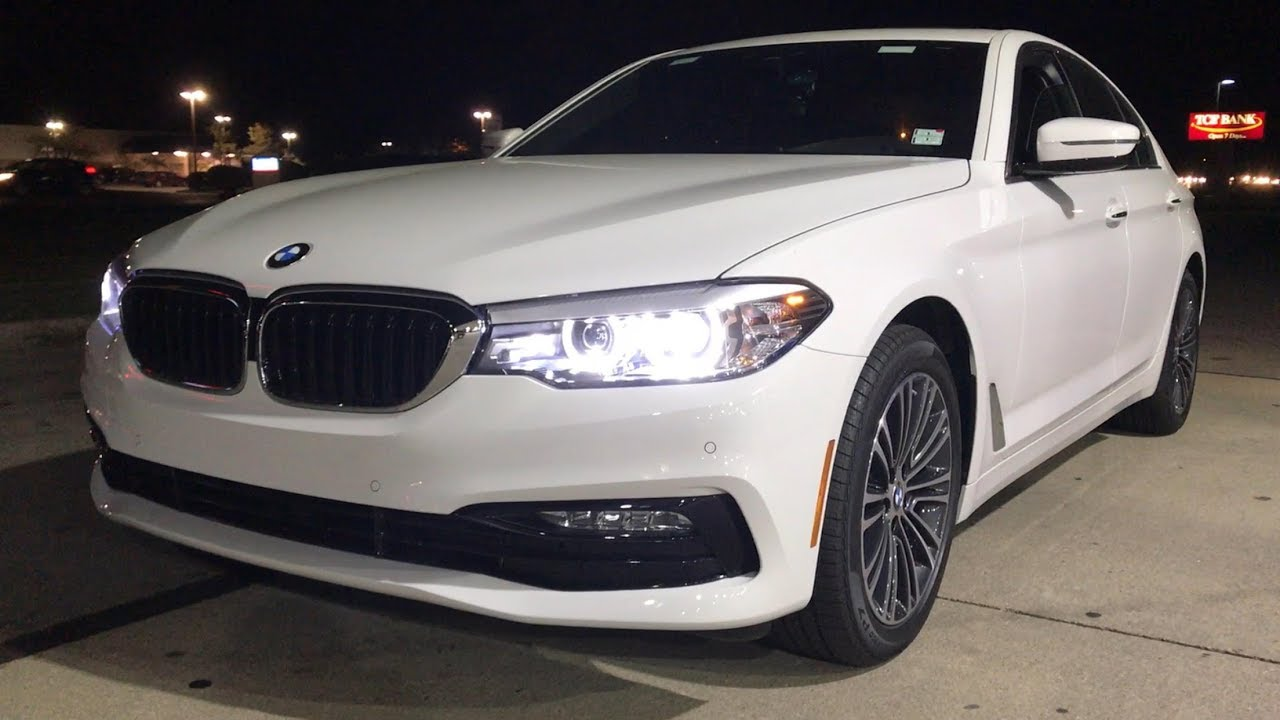 You Drive New 2018 Bmw 530i G30 Pov At Night The Future Of Sedans