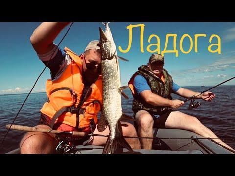 Рыбалка на Ладожском озере. Новая Ладога.