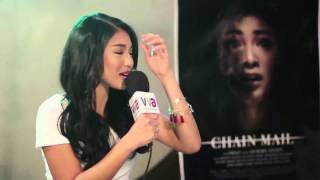 Nadine Lustre in Chain Mail