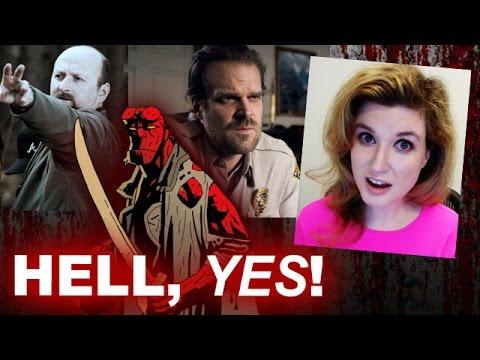 Hellboy Reboot David Harbour & Neil Marshall  Beyond The