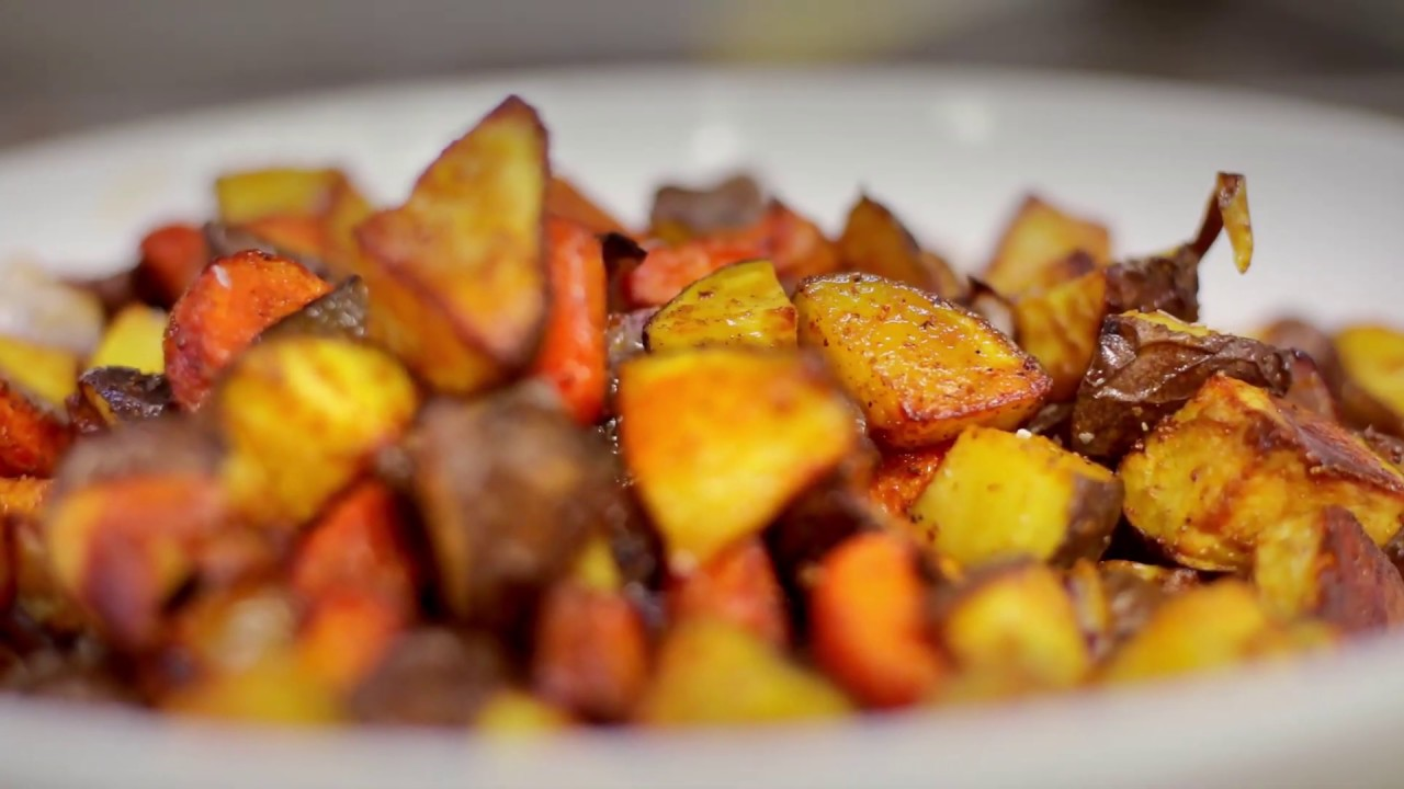 Slug Support Pantry Cooks: Oven Roasted Carrots and Potatoes