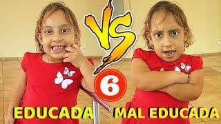 CRIANÇA EDUCADA VS MAL EDUCADA #6 - MC DIVERTIDA