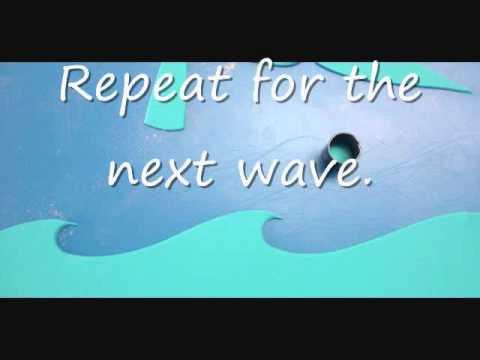 how to make fondant waves