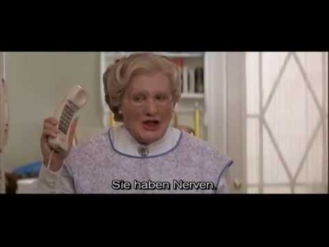 Mrs Doubtfire Deleted Scenes Deutscher Untertitel Youtube