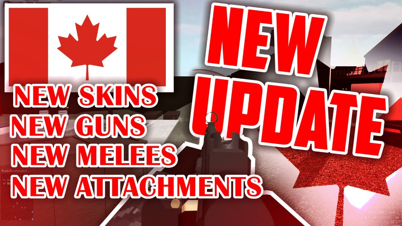 THE LONG AWAITED PHANTOM FORCES UPDATE (CANADA DAY)