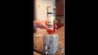 How To Put Bottle in Stone Beverage Dispenser