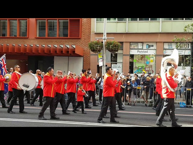 Sydney Tongan Brass Band 2018 Anzac Day at martin place (Part 2)