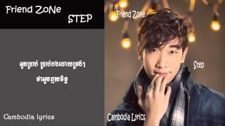 Friend Zone Step khmer song [lyrics video]