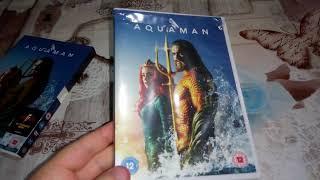 Aquaman DVD Unboxing