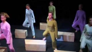 """Contemporary dance theatr """"Surface of percep..."""