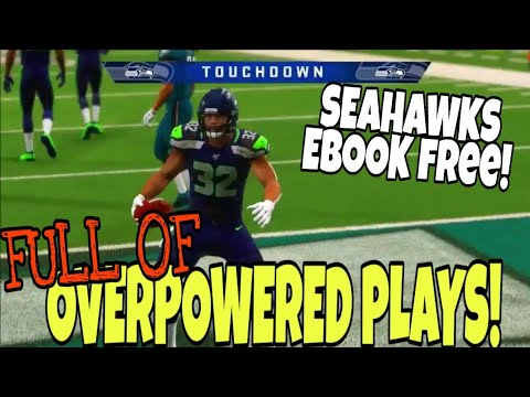 LOADED WITH MONEY PLAYS Run & Pass! Most BALANCED Playbook In Madden 20, FREE SEATTLE SEAHAWKS EBOOK