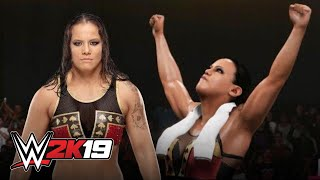 Shayna Baszler tries Ultimate Warrior's entrance in WWE 2K19
