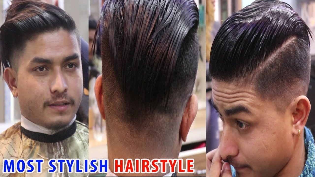 Most Stylish and Cool Hair Style for Men 10 / by Nepali Boy / Trend Hair  Style 10 /