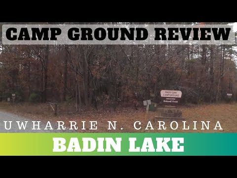 Badin Lake, Uwharrie National Forest Campground Review
