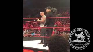 The Rock Leaves Voicemail For CM Punk To Please Audience After Raw Ends