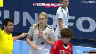 Russia VS Korea HandBall Women
