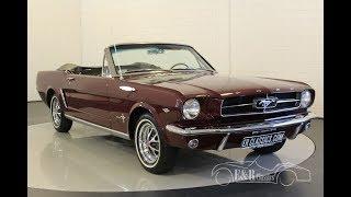 Ford Mustang 1964-VIDEO- www.ERclassics.com