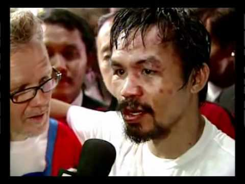 Manny Pacquiao vs  Antonio Margarito  Highlight Of The Night
