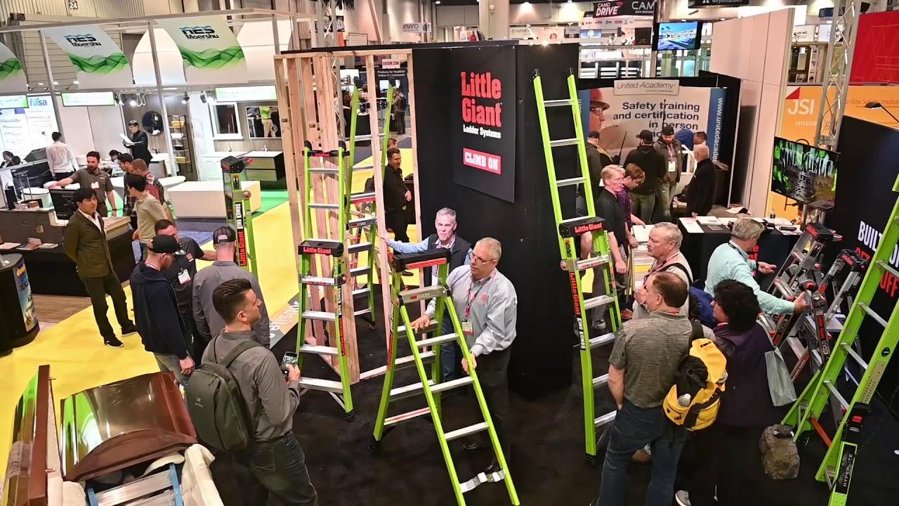 NEW Ladder launch - Little Giant King Kombo