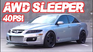 809HP AWD Sleeper - FASTEST Mazda Speed 6 EVER! (The Most Underrated Car Platform?!)