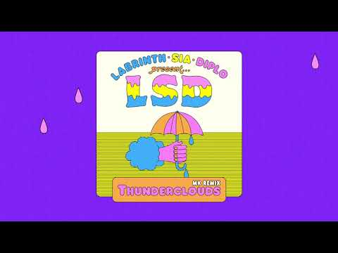 LSD - Thunderclouds (MK Remix) (Official Audio)