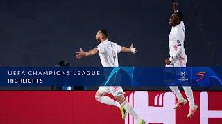 UEFA Champions League | Round of 16 | Real Madrid v Atalanta BC | Highlights