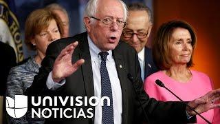 """Bernie Sanders: """"Trump es un mentiroso patológico"""""""