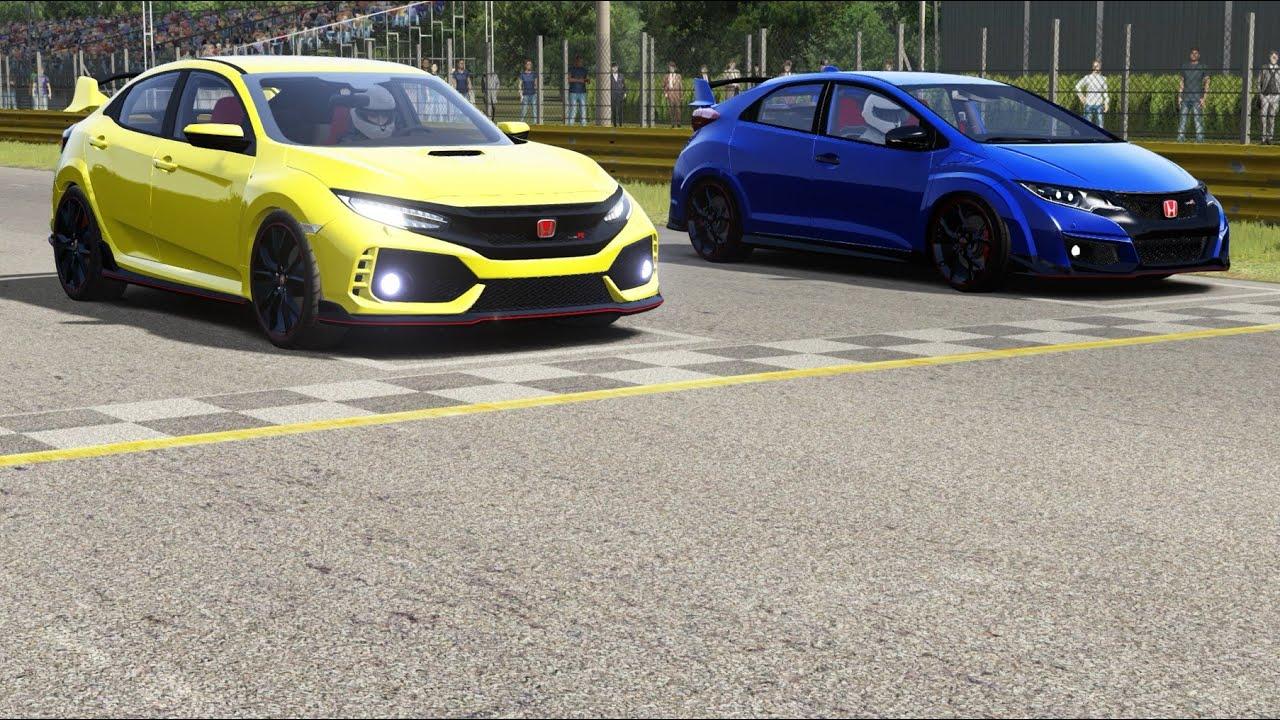 Honda Civic Type-R (FK8) 2018 vs Honda Civic Type-R (FK2 ...