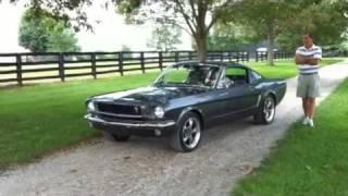 1965 Mustang 302 V8 Flowmaster