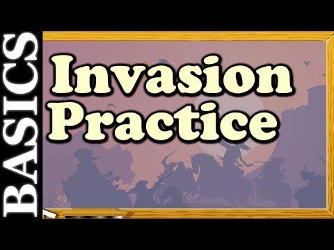Go Back to Basics - Invasion Practice Games