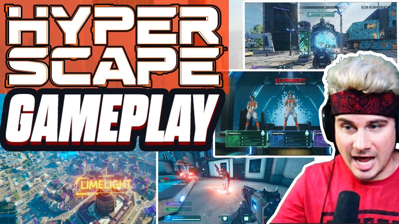 Erste Runde HYPERSCAPE - Ubisoft Battle Royale Gameplay