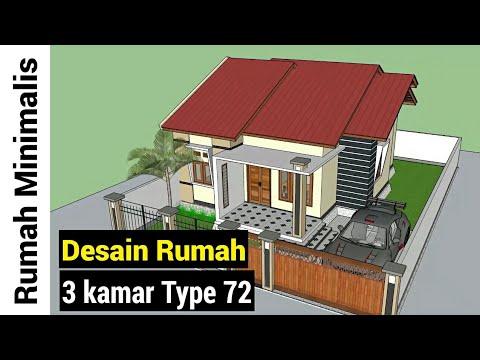 Desain Rumah Type 72