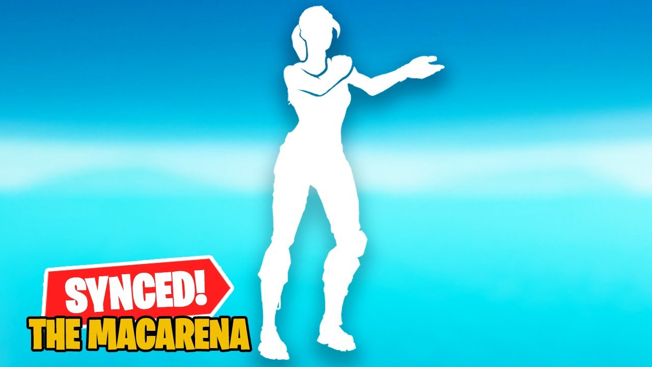 The Macarena Emote in Fortnite, But Every Second is a Different Character!