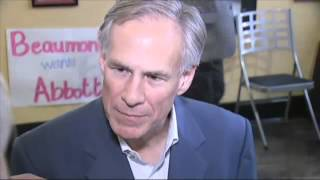 TX AG Greg Abbott campaigns in Beaumont