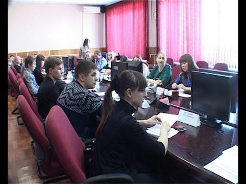 Первое заседание нового созыва общественной молодежной палаты при городской Думе