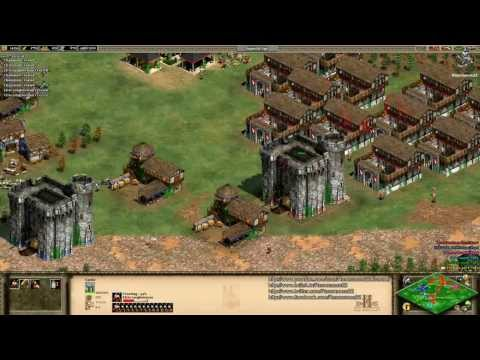 Aoe2 HD: 2v3 Black Forest (Britons, Economic Boom) (8/17/13)