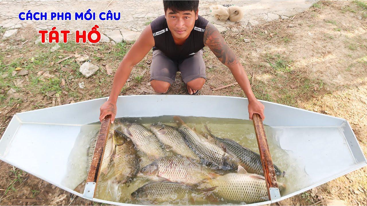 Câu Cá Chép Hồ Câu Dương Thủy ➣ Cá Ăn Mạnh, Cần Thủ Sung Quá Giật Cá Gãy Cả Cần