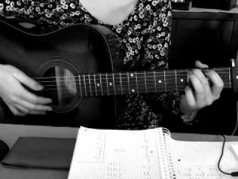 Schandmaul, willst du, Tutorial, Gitarre, akustik, acoustic, how to play wie spielt man