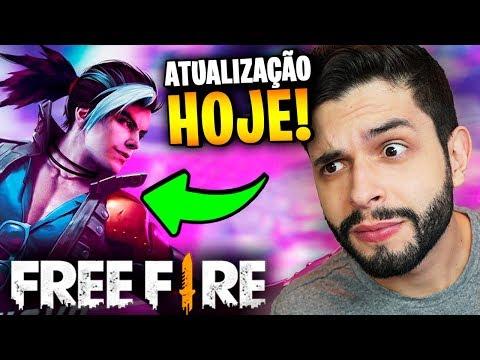 O FIM DOS HACKS?!? TUDO SOBRE A ATUALIZAÇÃO DE HOJE NO FREE FIRE!!!