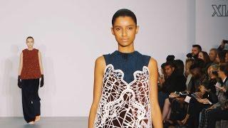 Xiao Li AW16 At London Fashion Week