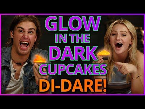 Diy Glow In The Dark Cupcakes