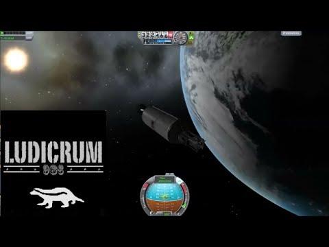 Kerbal Space Program: SpaceX Falcon9+Thaicom6 geostationary orbit