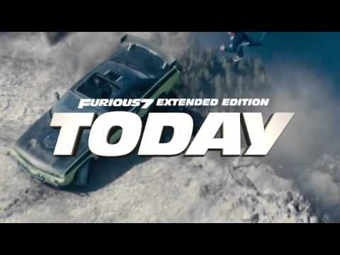 Furious 7 - Extended Edition Countdown: Today