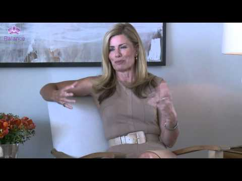 Deborah Hutton talks about how important her home is to balance