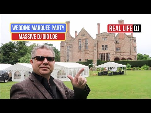 Summer Marquee Wedding Party | UK DJ Gig Log Mobile Wedding DJ