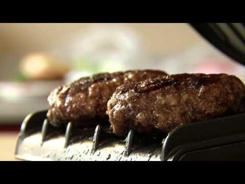 5-Minute Burger 2-Serving Grill   Tutorial