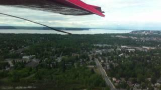Rust's Flying Service Flightseeing - Lake Hood Landing